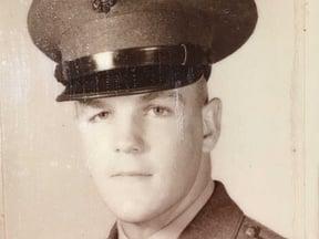 [blog-image]-maine-veterans-homes-scarborough-marine-veteran-of-month-gene-hoguet-uniform.png