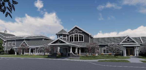 Community Center Entrance