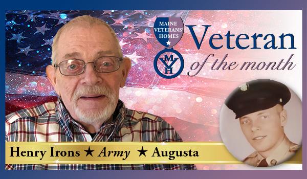 Veteran Henry Irons