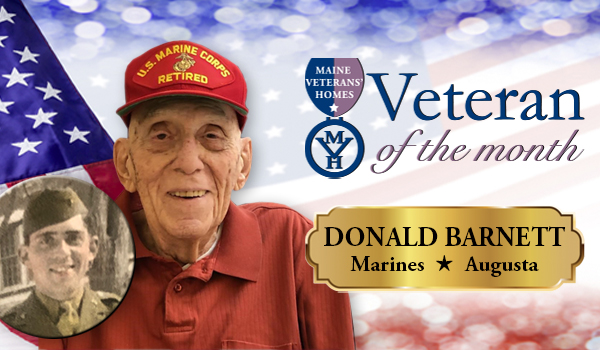 Veteran Donald Barnett