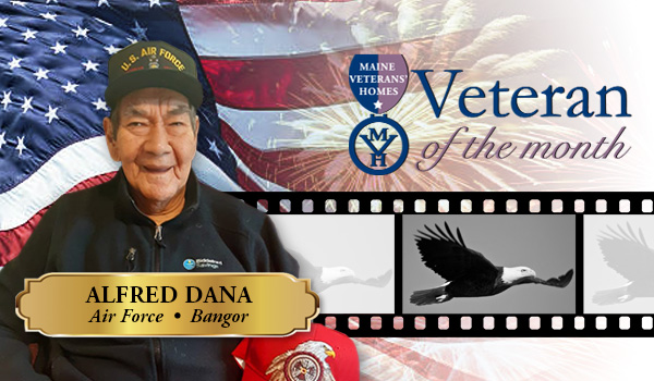 Veteran Alfred Dana
