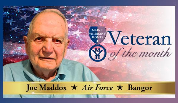 Veteran Joseph Maddox