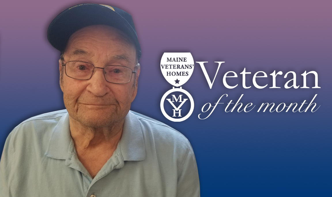 Veteran Donald Reynolds