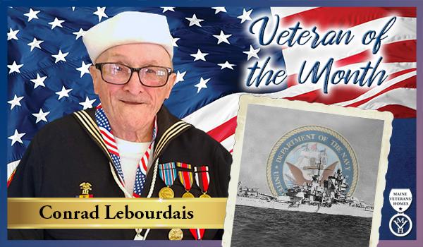 Veteran Conrad Lebourdais