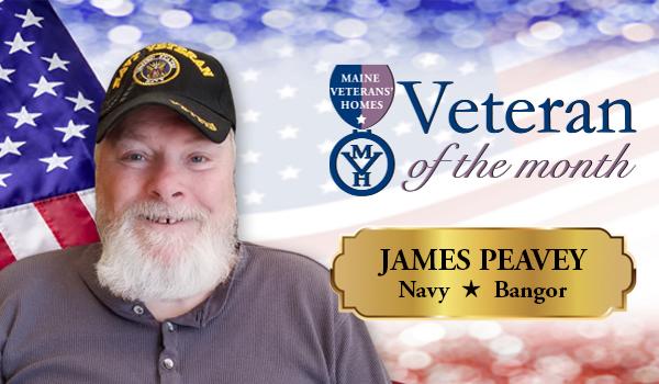 Veteran James Peavey