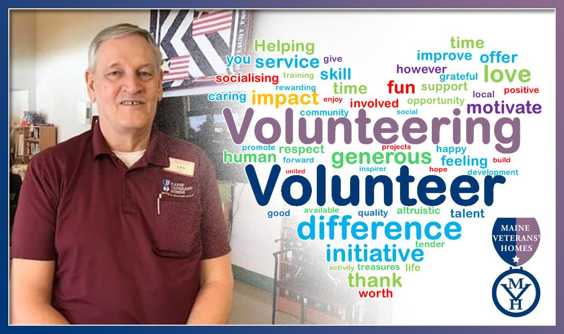 Volunteer Les shaw