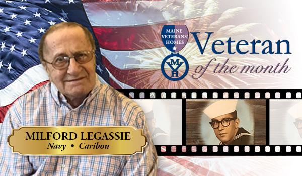 Veteran Milford Legassie