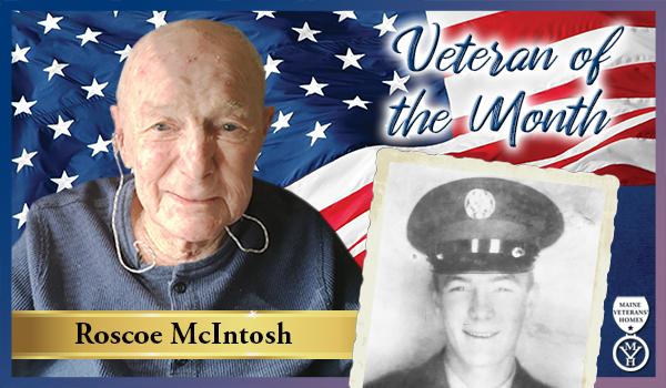 Veteran Roscoe McIntosh