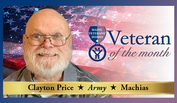 Veteran Clayton Price