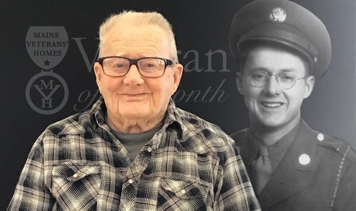 Veteran Ira Hallowell