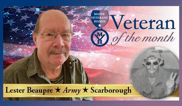 Veteran Lester Beaupre