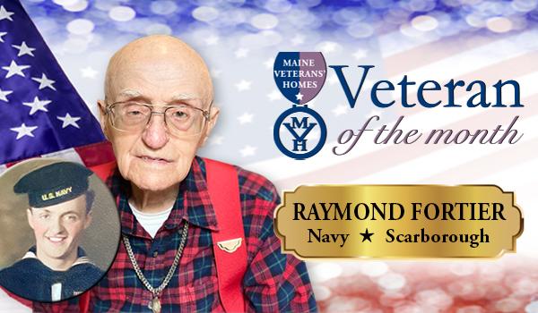 Veteran Raymond Fortier