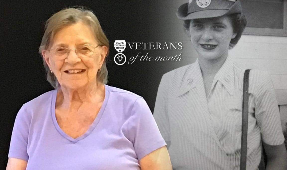 Veteran Nancy Hebert