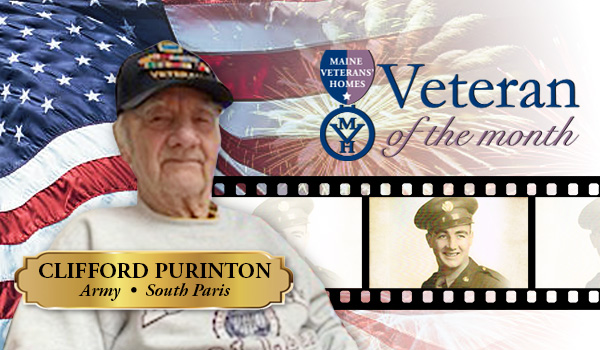 Veteran Clifford Purinton