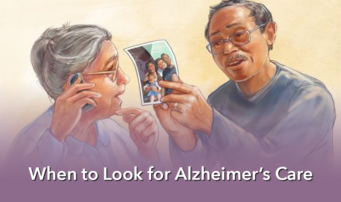 Seniors who may need Alzheimer's Care.