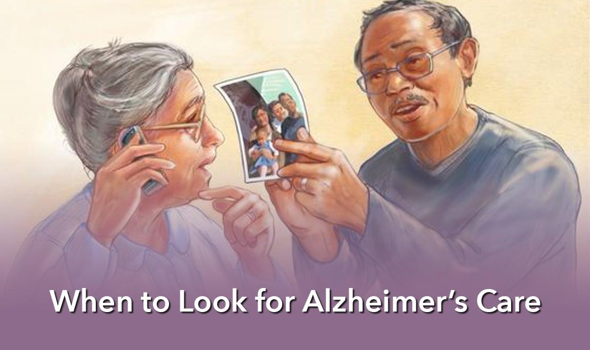 Seniors who may need Alzheimer's Care.
