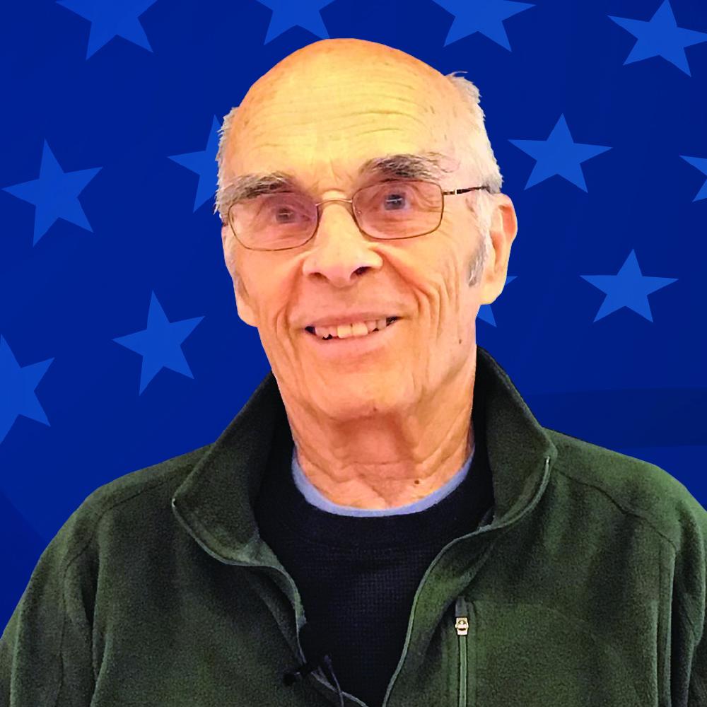Veteran Bruce Benson
