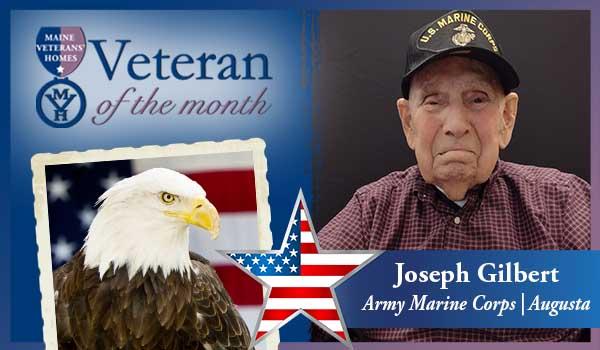 MVH Augusta Resident Joseph Gilbert - An October Veteran of the Month