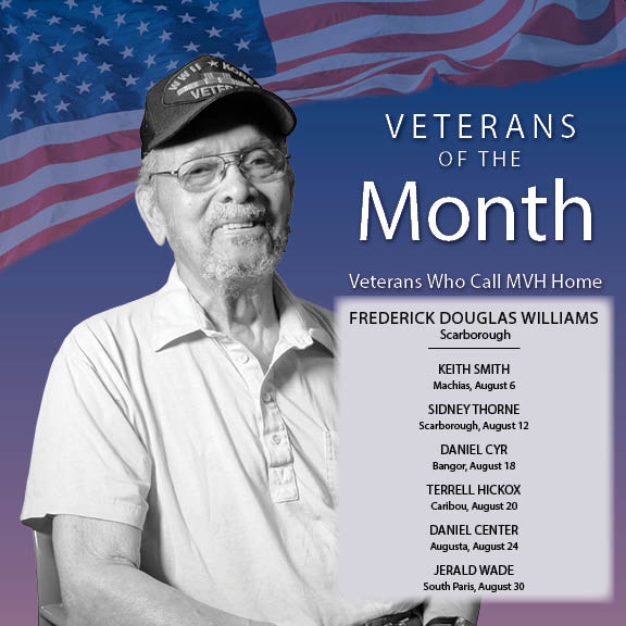 August Veterans of the Month
